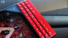 The Limited Edition is a seriously handsome device. Blackberry Passport, Gadgets, Instagram Posts, Handsome, Phone, Red, Telephone, Gadget, Mobile Phones