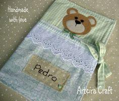 Arteira Craft: Capa de carteira de Vacinação ou Saúde