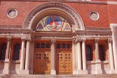 Holy Redeemer Doors...walk those stairs many times!