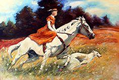 Hunting by Roman Fedosenko