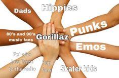 Fb Memes, Funny Memes, Sunshine In A Bag, Gorillaz Fan Art, Monkeys Band, Music Memes, Band Memes, My Chemical Romance, Mood Pics