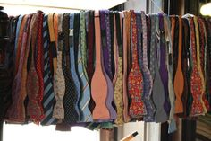 Bow ties will be mandatory at my funeral so take your pick!