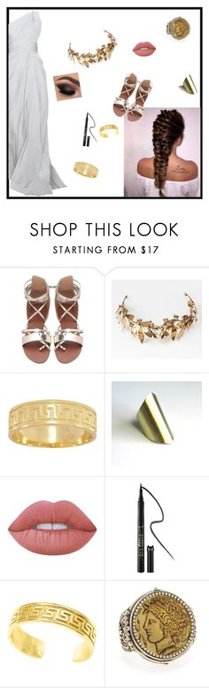 """""""Aphrodite"""" by designlover5 ❤ liked on Polyvore featuring Laurel Wreath Collection, Lime Crime, tarte and Konstantino"""
