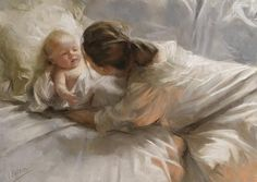 """Vincent Romero Redondo """"Mother and Child"""" Spanish Painters, Spanish Artists, Creation Photo, Pastel Portraits, Illustration Art, Illustrations, Pastel Art, Pastel Paintings, Mothers Love"""