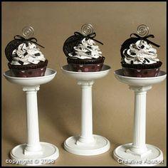 Creative Abubot: Simple Cupcake Pedestal Tutorial