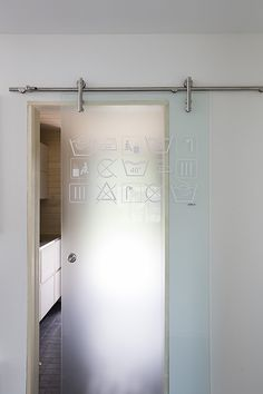 Visit our web page for a good deal more regarding this surprising double interior barn doors Sliding Bathroom Doors, Sliding Wall, Sliding Doors, Interior Barn Doors, Interior Exterior, Bathroom Interior Design, Glass Barn Doors, Glass Door, Window Films