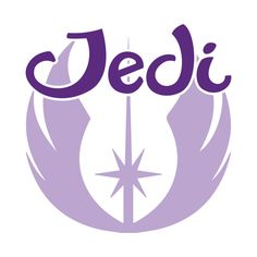 Awesome 'Jedi+Girl+-+Purple' design on TeePublic! - Represent the Jedi Order in style! (SciFi Tshirts)