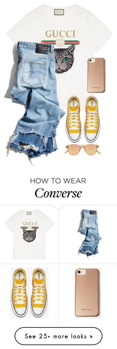 """""""Untitled #573"""" by abbes03 on Polyvore featuring Gucci, R13, Chimi, Karen Millen and MyFaveTshirt"""