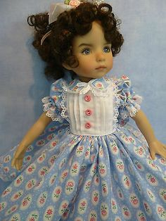 Cameo-Roses-Outfit-for-Effner-13-Little-Darling-by-Apple. Sold for $51.00 on 2/15/14