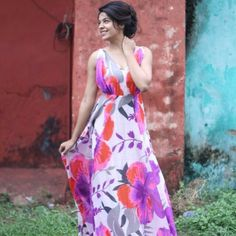 My favourite! #floraldress #gown #maxidress #spring