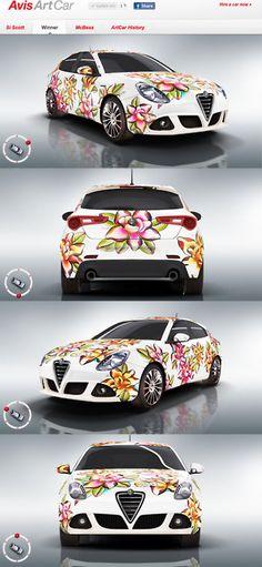 Avis Art Car...Source:vectorink