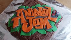 Animal Jam birthday cake.