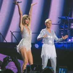 Taylor brought out Ellen as the special guest during Style at the 1989 World Tour in Los Angeles night three! 8.24.15