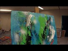 Instructional. Learn To Paint Abstract Painting Intuitive 2 (HD) by Jan van Oort - YouTube