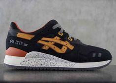 Asics Gel Lyte III Black/Tan