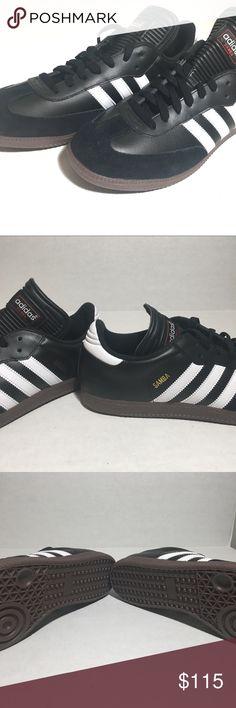 best service ede2d 1151b Adidas Samba Classic 034563 Black White Mens sz 12 Adidas Samba Classic  034563 Black White Mens