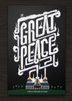 creative, design, Examples, Fonts, illlustration, Inspiration, print, Typography,GreatPeace