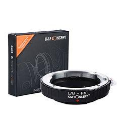 K&F Concept EOS - FX Objektiv Mount Adapter Ring Objektiv Adapterringe für Canon EOS EF/EFS Objektiv Adapterringe auf Fujifilm X Kamera EOS-FX X-Pro1 X-E1 X-E2 X-A1 X-M1 X-T6 EOS-FX - http://kameras-kaufen.de/k-f-concept/l-m-fx-k-f-concept-af42-m42-fx-objektiv-mount-adapter