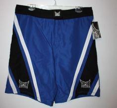 Men's Tapout UFC Training Board Shorts Size 28 XS Black White Blue New | #Tapout #MMA #MMAFASHION #eBay