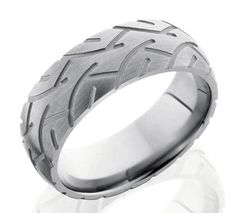motorcycle tire wedding bands...definitely possible