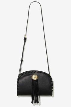Nice black cross body bag. Love the little bit of fringe detail. Luggage  Backpack 16249623f86a9
