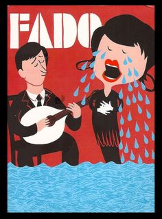 Fado: a very expressive genre of music from Portugal Sintra Portugal, Pub Vintage, Ferry, Portugal Travel, Vintage Travel Posters, Algarve, Vintage Advertisements, Ads, Illustrations Posters