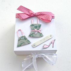 Little Pink Dress Keepsake Box £6.95
