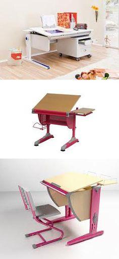 contemporary furniture for kids room design, ergonomic tables and computer desks
