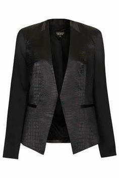 Professionelle: Croc Embossed Jacket