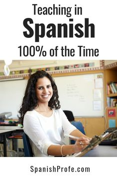 Tips for bilingual, dual language, and Spanish teachers that are struggling to teach or speak in Spanish the entire time they are teaching. Ideas and strategies to use in class to assure that you use comprehensible input so that the student and teachers a Spanish Teaching Resources, Spanish Activities, Spanish Language Learning, Teaching Ideas, Class Activities, Listening Activities, Language Lessons, Bilingual Classroom, Bilingual Education