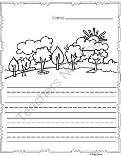 FREE Fall Paper from Kindergarten Kristy on TeachersNotebook.com -  (10 pages)  - Please enjoy this FREE packet of Fall writing paper for your elementary students!  7 pages of writing/draw a picture 3 pages of just lined writing paper