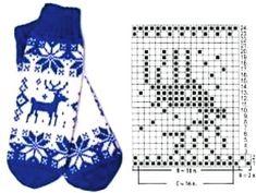 Knitted Mittens Pattern, Crochet Gloves, Knit Mittens, Knitting Socks, Baby Knitting, Knitted Hats, Knitting Charts, Knitting Stitches, Knitting Patterns