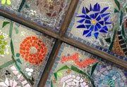 Make Garden Art With Old Windows