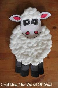 Paper Plate Sheep- This is a great resource. It has OT & NT crafts, games, and printables as well as free curriculum.