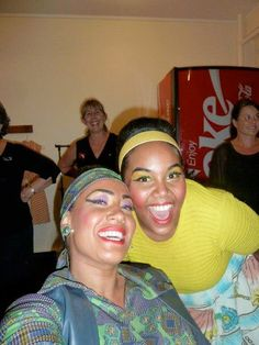 Hairspray production....with my girl Jo-day
