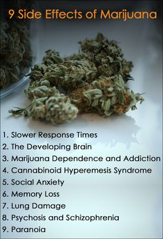 Even though marijuana is legal in many states, users should still be aware of the negative side effects of weed. Here are 9 side effects of marijuana use. Smoking Side Effects, People With Schizophrenia, Marijuana Facts, Social Anxiety Disorder, Withdrawal Symptoms, Under The Influence, Addiction Recovery, Health Promotion, Skull Art