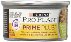 Purina Pro Plan Wet Cat Food Prime Plus Adult 7 Turkey  Giblets Entree 3Ounce Can Pack of 24 -- Want additional info? Click on the image.-It is an affiliate link to Amazon. #CatFeeding