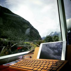 Where's your #office today!?Photo taken by @josiahng #OreeTouch #EmotionalTechnology #Wood #Tech #Essentials