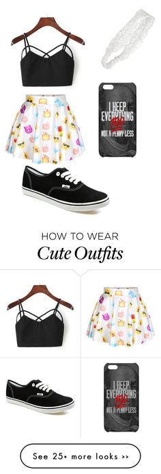 """emoji outfit"" by courtneyb377 on Polyvore"