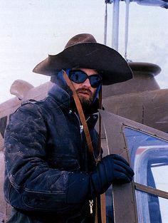 R J MacReady (Kurt Russell) in John Carpenter's The Thing, 1982