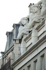 atlantes. Paris