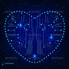 Circuit board with in heart shape pattern #GraphicRiver Vector Illustration, Vector Pattern, includes swatch EPS10 (Contains transparent objects used for shadows drawing, glare and background. Background to give the gloss, opacity), raster version. Illustrations may at your option contain text. Created: 26February13 GraphicsFilesIncluded: JPGImage #VectorEPS Layered: No MinimumAdobeCSVersion: CS Tags: abstract #background #board #chip #circuit #communication #complexity #computer #c