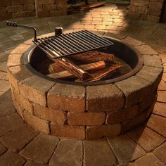 Rockwood Compact Fire Ring with Cooking Grate #LearnShopEnjoy