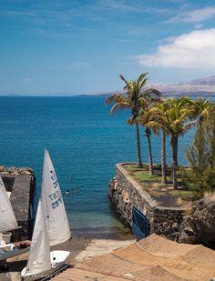 Puerto Calero. Lanzarote, Canary Islands. theitalianchica.com