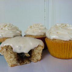 Sopa Borracha Cupcakes (Rum Raisin Cupcakes). Inspired by the Panamanian dessert. Cheers! Salud!