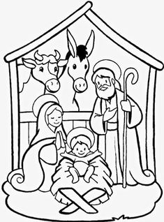 Christmas Jesus, Preschool Christmas, Christmas Nativity, Christmas Activities, Christmas Printables, Kids Christmas, Nativity Crafts, Christmas Games, Christmas Pictures