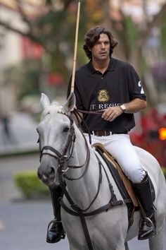 Ralph Lauren Model and Star Polo Player Nacho Figueras
