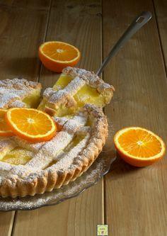 Crostata alla crema d'arancia