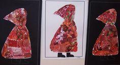 """atelier """"chaperon rouge"""", Véronique Pédréro, Cie Poussières d'Histoires Nursery Activities Eyfs, Nursery Rhymes Preschool, Preschool Art, Preschool Literacy, Traditional Tales, Traditional Stories, 3 Year Old Activities, Book Activities, Fairy Tales"""