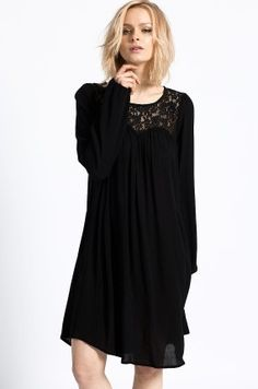 Medicine - Sukienka kolor czarny RW16-SUD108 - oficjalny sklep MEDICINE online